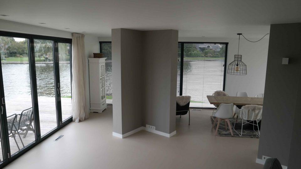 Gietvloer woonhuis | Vanwinkelvloeren.nl