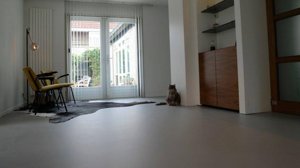 Basebeton betonlook vloer - Van Winkel vloeren