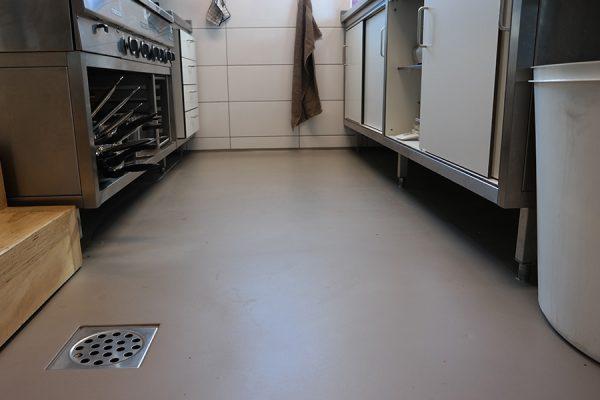 Gietvloer voldoet aan hygienische voorwaarden | Horeca ruimte