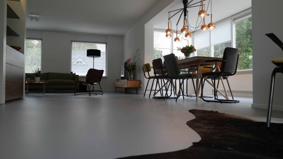 Gietvloer woonhuis - Vloer Corné van Winkel