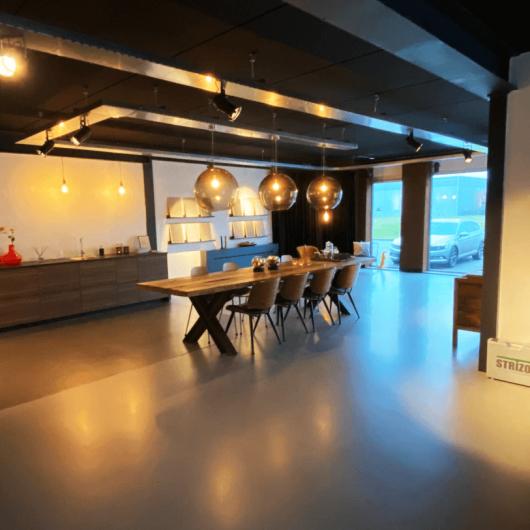 Corné van Winkel - showroom Lemmer